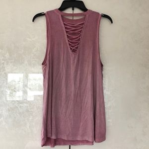 American Eagle Criss Cross Tank